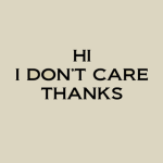 Don't care 2