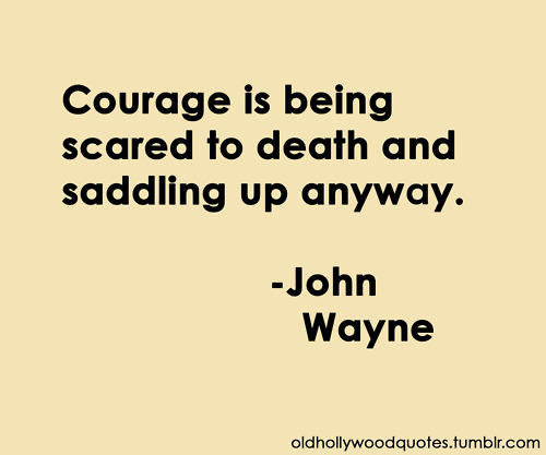 Anxiety & Courage | Fearmastery Blog