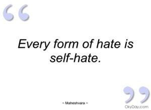 Self-hate 11